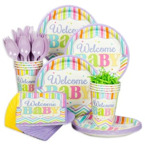 Baby Brights Baby Shower Party Supplies