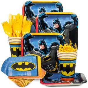 Batman Boy's Birthday Party Supplies