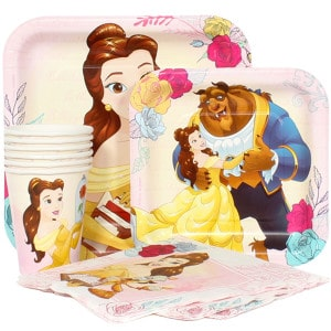Beauty and The Beast Girl's Birthday Party Supplies