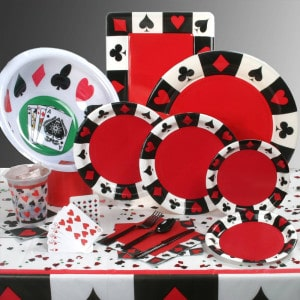 Casino General Birthday Party Supplies