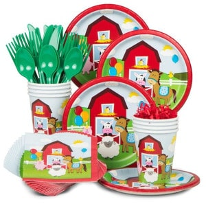 Farmhouse Fun First Birthday Party Supplies