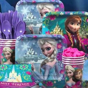 Frozen Magic Girl's Birthday Party Supplies