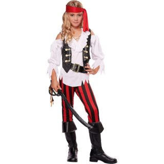 Girls Pirates and Ninjas Costumes