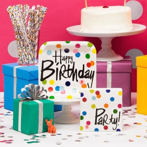 Happy Birthday Dots General Party Supplies