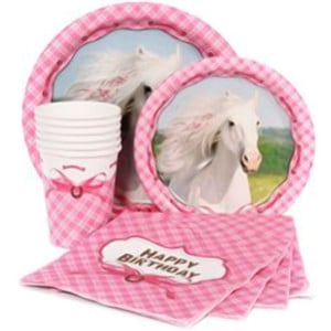 Heart my Horse Girl's Birthday Party Supplies