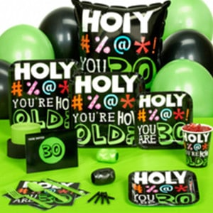 Holy Bleep General Birthday Party Supplies