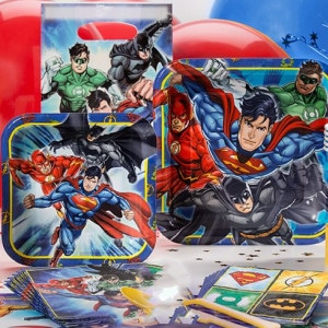 Justice League Boy's Birthday Party Supplies