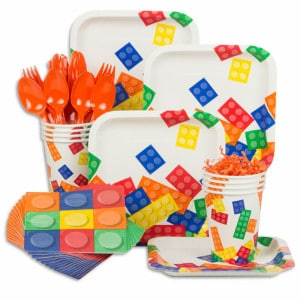 Brick Party General Birthday Supplies