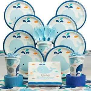 Lil Spout Blue Baby Shower Party Supplies