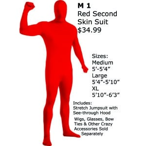 Mens Morphsuits Costumes