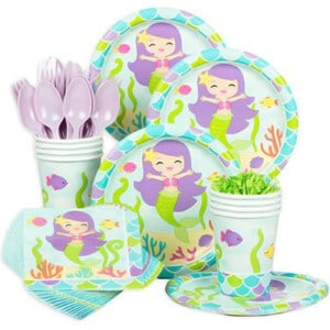 Mermaid General Birthday Party Supplies