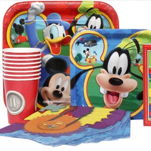 Mickey Mouse Boy's Birthday Party Supplies