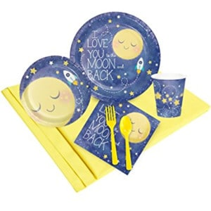 Moon and Back Baby Shower
