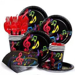 Musical Notes General Birthday Party Supplies