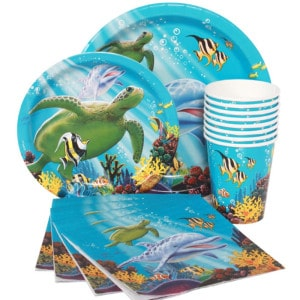 Luau and Under The Sea Themed Party Supplies