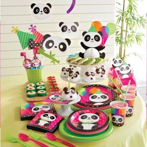 Panda-Monium Birthday Party Supplies