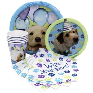 Party Pup Boy's Birthday Party Supplies