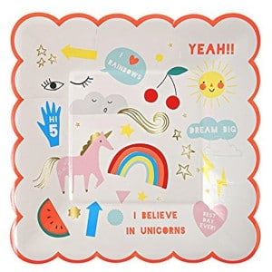 Rainbow Unicorn General Birthday Party Supplies