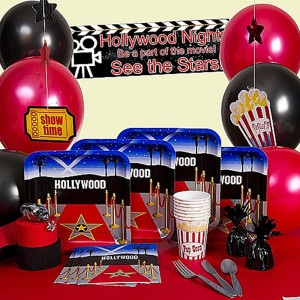 Reel Hollywood General Birthday Party Supplies
