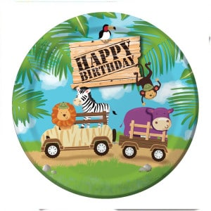 Safari Adventure First Birthday Party Supplies