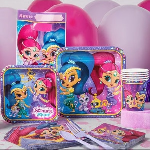 Shimmer And Shine Girl's Birthday Party Supplies
