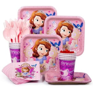 Sofia the First Girl's Birthday Party Supplies