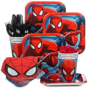 Spiderman Boy's Birthday Party Supplies
