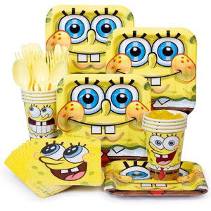 Spongebob Square Pants Boy's Birthday Party Supplies