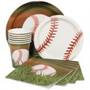 Baseball Sports Fanatic General Birthday Party Supplies