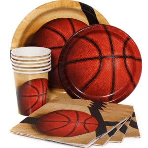 Sports Fanatic Basketball Birthday Party Supplies