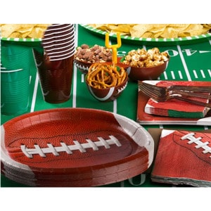 Football Sports Fanatic General Birthday Party Supplies