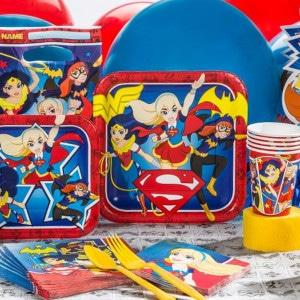 Super Girl Birthday Party Supplies