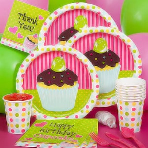 Sweet Treats General Birthday Party Supplies