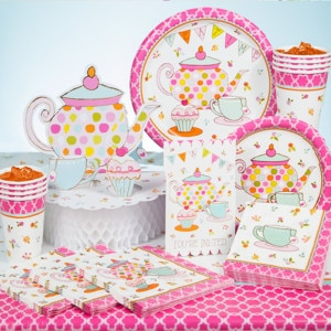 Tea Party General Birthday Party Supplies