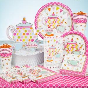 Tea Time Girl's Birthday Party Supplies