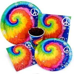 Tie Dye Fun General Birthday Party Supplies