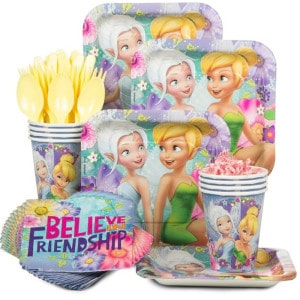 Tinkerbell Girl's Birthday Party Supplies