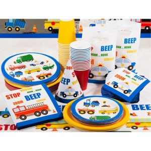 Traffic Jam General Birthday Party Supplies