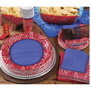 Western General Birthday Party Supplies