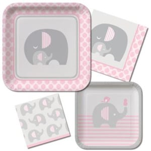 Little Peanut Girl Baby Shower Party Supplies