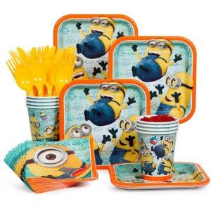 Minion Boy's Birthday Party Supplies