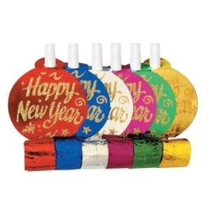 New Year Noisemakers