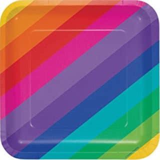 Rainbow Party Pattern General Birthday Supplies