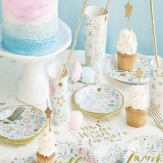 Twinkle Twinkle Little Star Baby Shower Party Supplies