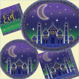 Eid Al Fitr Celebration Tableware