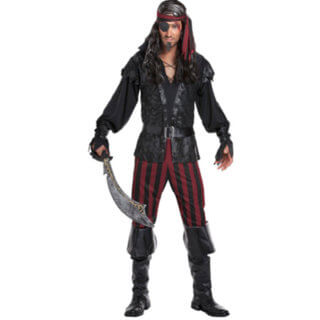 Mens Pirates and Ninjas Costumes