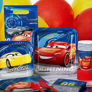 Cars 3 Boy's Party Supplies