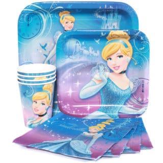 Cinderella Girl's Birthday Party Supplies