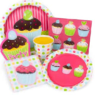 Cupcake General Birthday Party Supplies