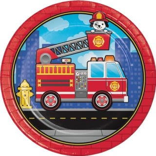 Flaming Fire Truck Party Supplies